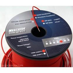 NEOTECH SOCT-24 Fil câblage UP-OCC PTFE 20AWG