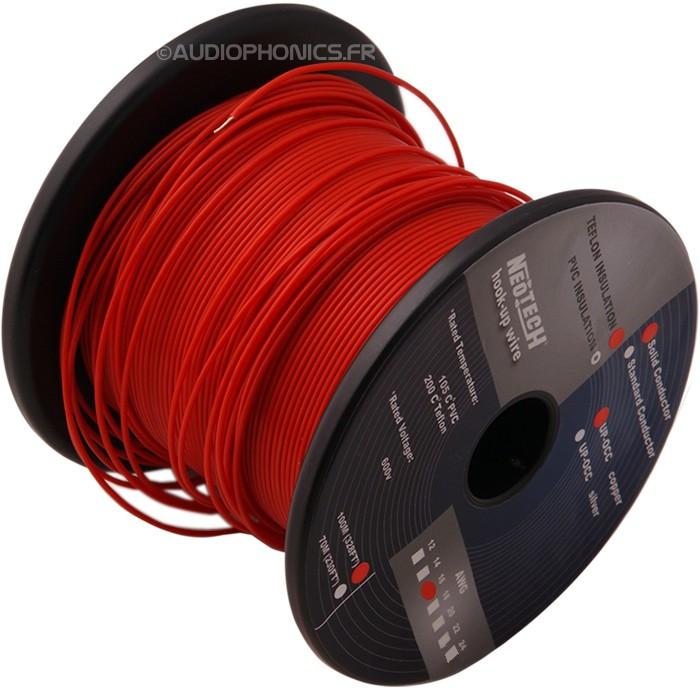 NEOTECH SOCT-16 Fil de câblage Cuivre UP-OCC PTFE 1.3mm²