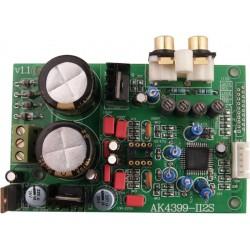 DAC AKM4399 I2S vers Analogique 32bit/192khz