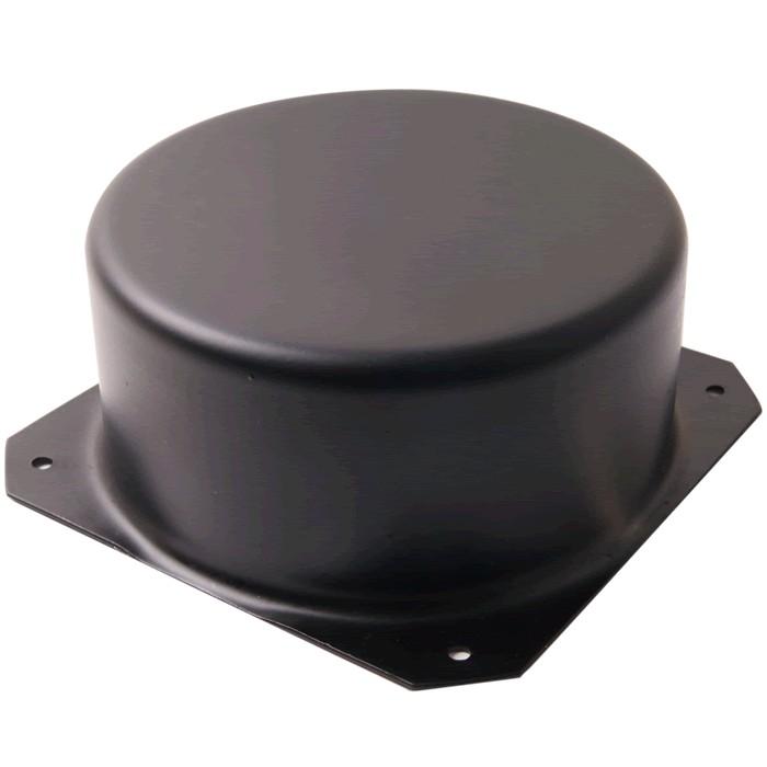 Capot de blindage tôle pour transformateur torique 120x65mm