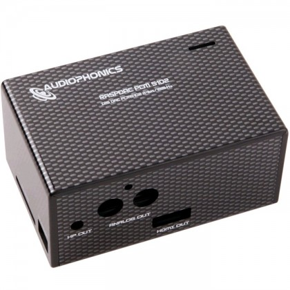 Audiophonics Boîtier DIY pour Raspberry Pi et DAC PCM5102