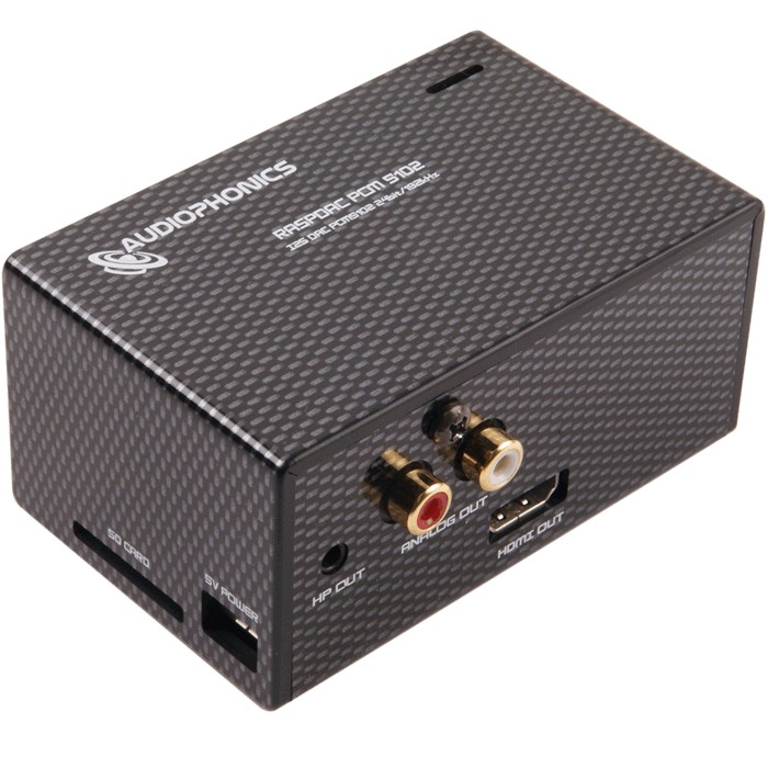 AUDIOPHONICS RASPDAC DAP 32bit/384kHz Starter kit