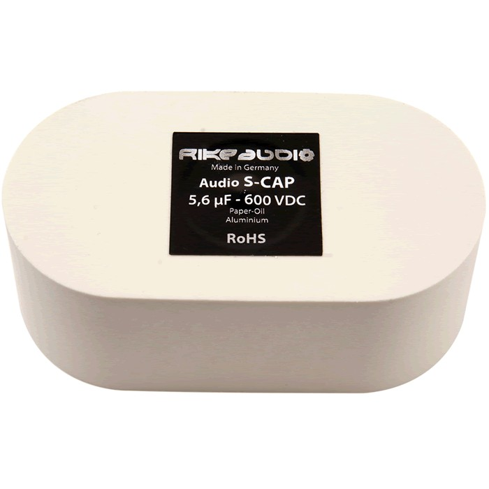 Rike Audio S-Cap - Condensateur Papier Huilé 600V 10.0µF