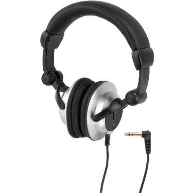 MONACOR MD-6400 Casque audio stéréo Noir