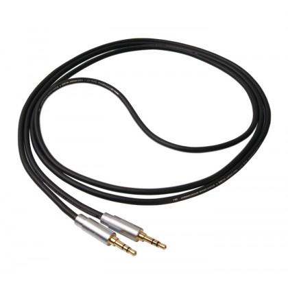 1877 PHONO Zavfino Hemi-HP Graphite Câble de modulation pour écouteurs Jack 3.5mm / Jack 3.5mm 2.0m