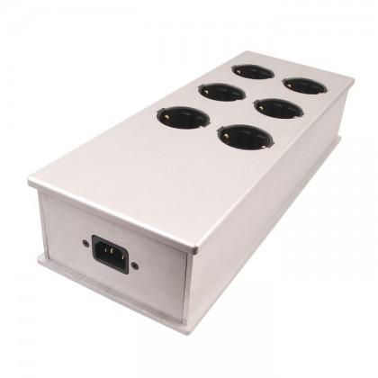 Audiophonics MPC6 Distributeur secteur 6 ports Aluminium