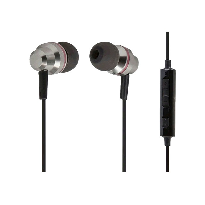 IEM-116 Casque Audio intra-auriculaire avec micro et contrôle Android