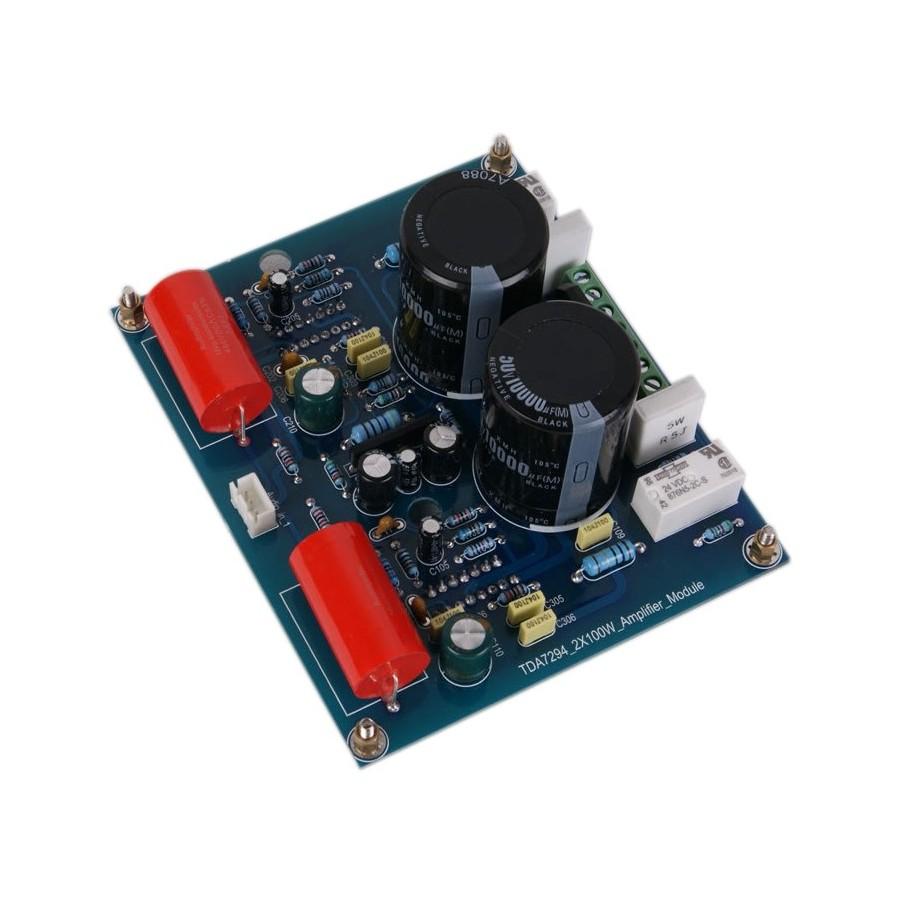 Audiophonics Xda019 Amplifier Module Tda7294 2x100w 100w Audiio Amplificateur