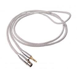 1877 PHONO Zavfino Cali White Headphone Cable Jack 3.5mm / Mini XLR 2.0m