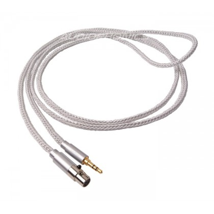 1877 PHONO Zavfino Cali White Headphone Cable Jack 3.5mm / Mini XLR 2.0m