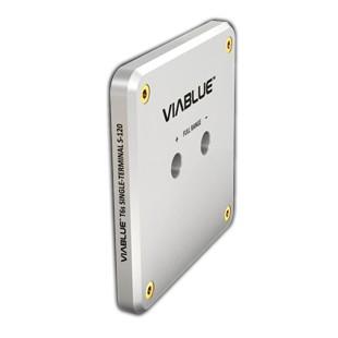 Viablue Single-Terminal S-120 Silver sans Borniers T6S