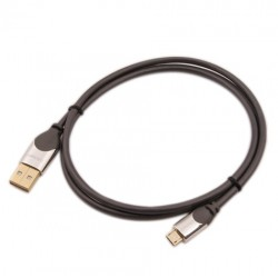 LINDY CROMO Câble USB 2.0 Type A / Micro-B 1.0m