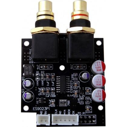 Audiophonics I-Sabre DAC ES9023 Raspberry Pi / I2S