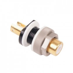 ELECAUDIO ER-108W RCA Tellurium Copper / Gold Plated 10µ (unit)