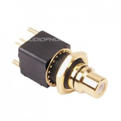 ELECAUDIO ER-107B RCA Jack PTFE Gold Plated 24K (unit)