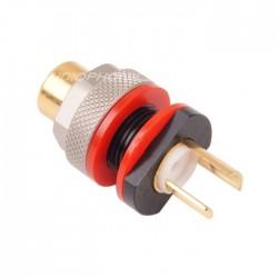 ELECAUDIO ER-108W RCA Jack Tellurium Copper / Gold Plated 24K (unit)