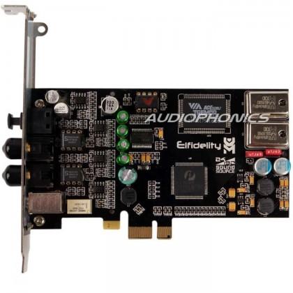 Elfidelity AXF-8 Carte Son PCI-E AKM4396 24bit/192khz