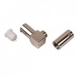 ELECAUDIO DIN-101 Tonearm Connector 5 spindles Rhodium