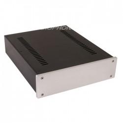 Boîtier DIY DAC / Préamplificateur / Phono 100% Aluminium 311x260x70mm