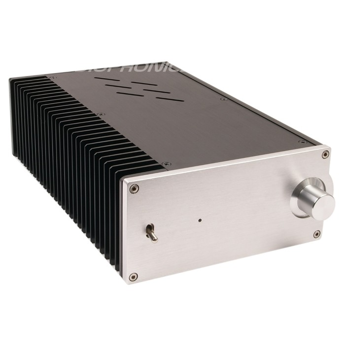 DIY Box for Amplifier 100% Aluminium 311x194x90mm