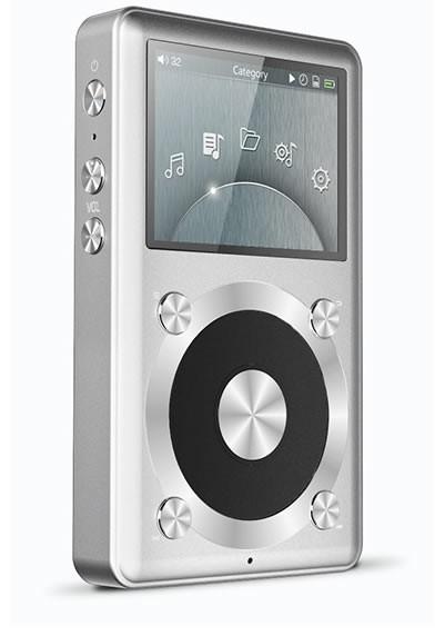 FiiO X1 DAP Baladeur Numérique Audiophile 24/192kHz PCM5142 Silver