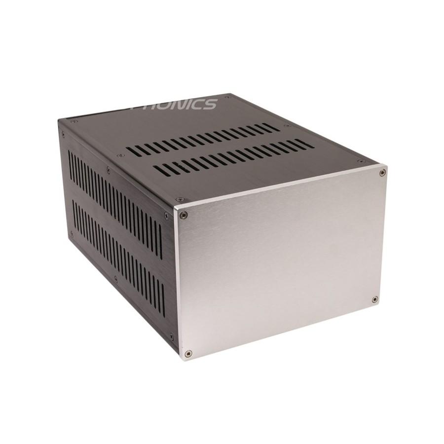 DIY Box Power supply / Amplifier 100% Aluminium 311x221x150mm