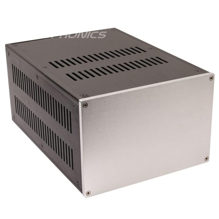 Boîtier DIY Alimentation / Amplificateur 100% Aluminium 311x221x150mm