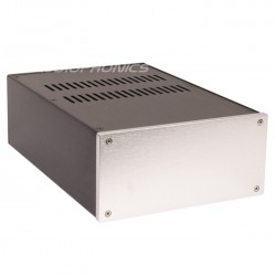 Boîtier DIY Préamplificateur / DAC / Phono 100% Aluminium 311x210x100mm