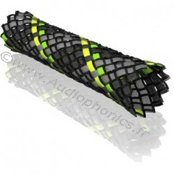 VIABLUE Braided sleeve Neon 6-14mm