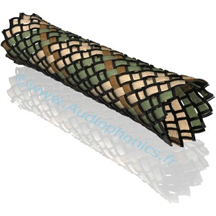 VIABLUE Braided Sleeve Army 6-14mm