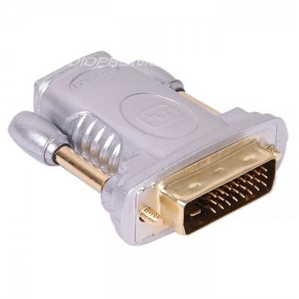 SOMMERCABLE Adaptateur HDMI femelle / DVI 24+1 Mâle