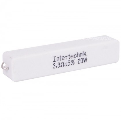 Intertechnik 20W - Résistance céramique de précision 3.3ohm