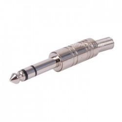 Connecteur Jack 6.3mm stéréo Ø8mm