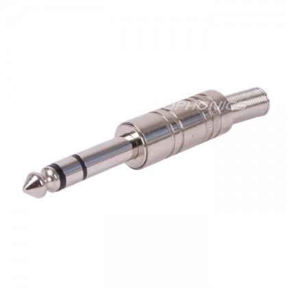 FURUTECH FP-704 (G) Fiche Jack 6.3mm stéréo Plaqué Or Ø8mm