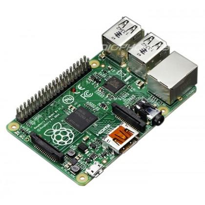 Raspberry Pi Model B+ 512Mo - HDMI Ethernet 4xUSB