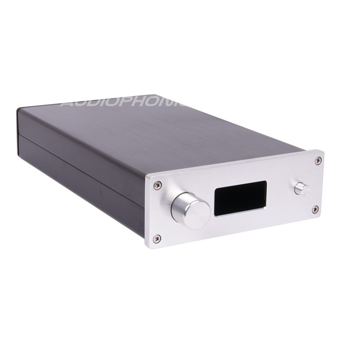 DIY Box Preamplifier / DAC 100% Aluminium 291x172x60mm