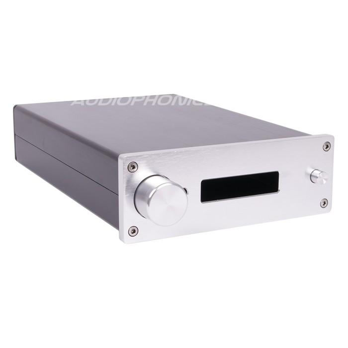 Boîtier DIY préamplificateur / DAC 100% Aluminium 251x172x60mm