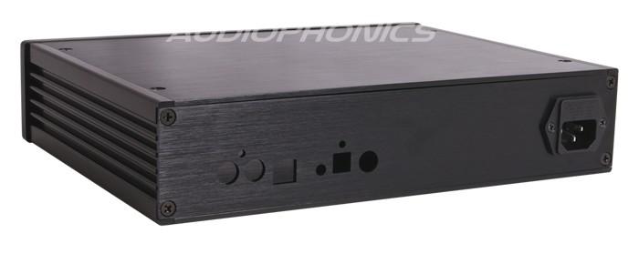 Boîtier DIY 100% Aluminium pour AKM AK4399 280x211.5x62mm Noir