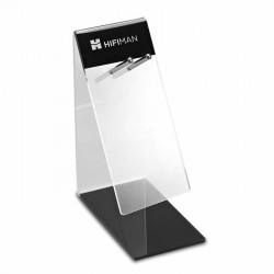 HIFIMAN Headphone Stand acrylic Transparent & Black
