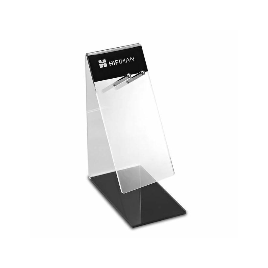 Hifiman Headphone Stand Acrylic Transparent Black Audiophonics
