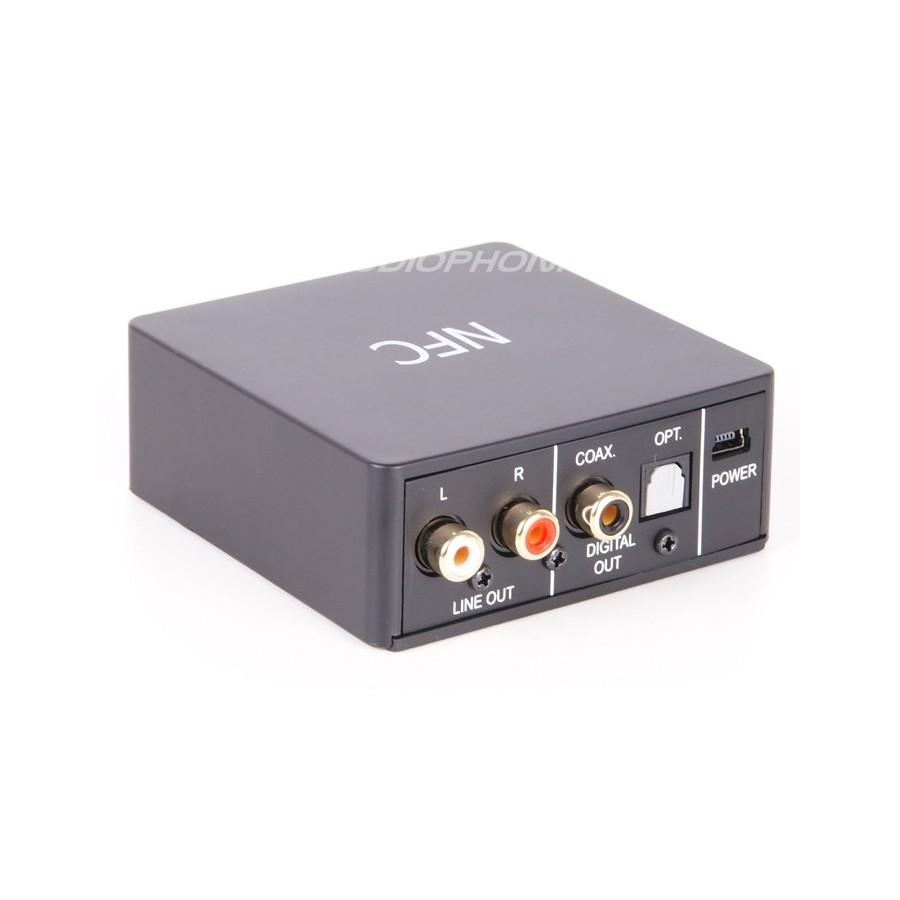 r cepteur audio sans fil bluetooth 4 0 aptx nfc sortie num rique audiophonics. Black Bedroom Furniture Sets. Home Design Ideas