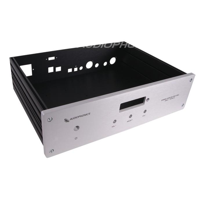 DAC U-Sabre ES9018 & Raspberry Pi B Aluminium Box / Case 330x230x80mm