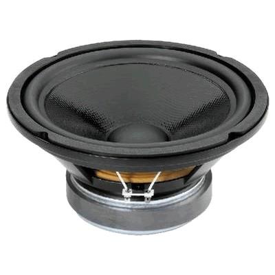 MONACOR SPH-250CTC Speaker Driver Subwoofer Dual Coil 2x100W 2x8 Ohm 91dB