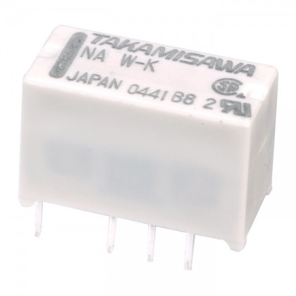 Takamisawa NA5W-K Relais universel pour PCB 5V 2A double contact