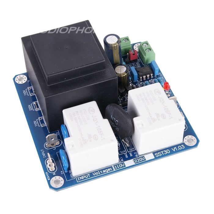 AUDIOPHONICS Module Softstart for control and delay for amplifier