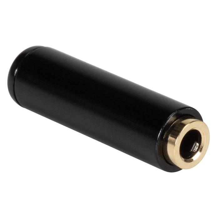 Jack 3.5mm female Plug Stereo Gold plated 24K Ø 4mm (Unité)