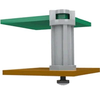 TCEHCBS-4-01 Entretoise Nylon M3x10.5mm Spéciale PCB (x10)