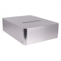 DIY Box 100% Aluminium 320x240x90mm Silver