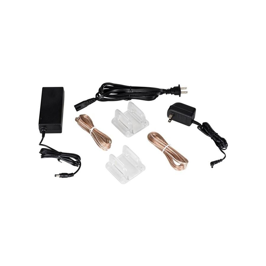 Dayton Audio Xra25 Rear Channel Wireless Digital Amplifier Stereo 2x 12w 25w