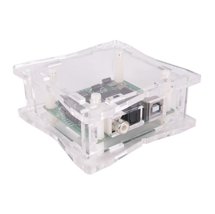 Boîtier DIY Acrylique pour Interface USB LJ CM6631A